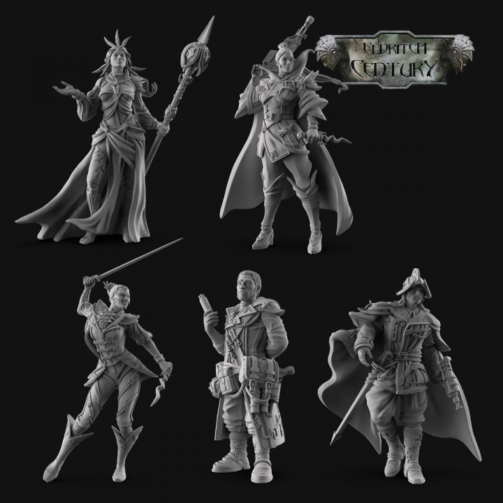 Eldritch Century - Renascent Hegemony STL Pack's Cover
