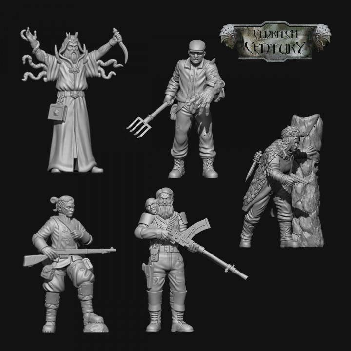 Eldritch Century - Remnants  STL Pack's Cover