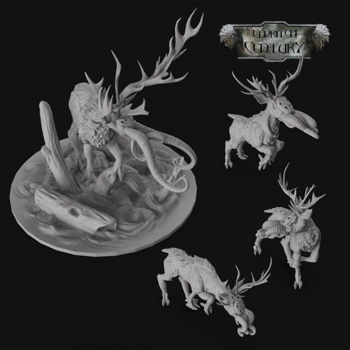 Eldritch Century - Monster - Hellstag and horrid deer's Cover