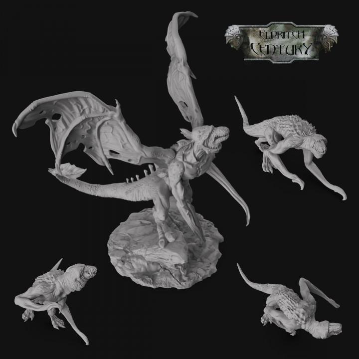 Eldritch Century - Monster - Flying Reaper's Cover