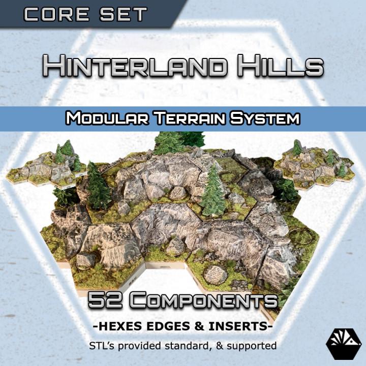 HexhogTabletops: Hinterland Hills - Core Set -'s Cover