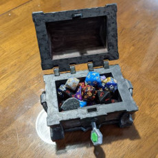 Picture of print of Dungeon Chest - Remastered