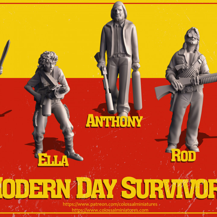 Modern Day Survivor Series 02 Bundle - PRE-SUPPORTED's Cover
