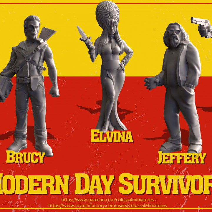 Modern Day Survivor Series 03 Bundle - PRE-SUPPORTED's Cover