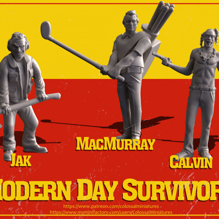 Modern Day Survivor Series 04 Bundle - PRE-SUPPORTED's Cover
