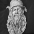 Sylvester McCoy - Radagast The Brown - A Lord of the Rings Inspired head bust/wall hanging image