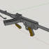 MG 13 German Machinegun - scale 1/4 image