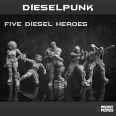 Dieselpunk Miniatures