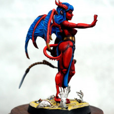 Picture of print of Scarlet, the Succubus