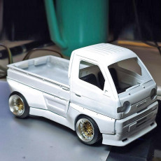 SUZUKI CARRY STYLE MODEL WITH BODYKIT - COMPLETE MODEL