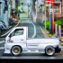 SUZUKI CARRY STYLE MODEL WITH BODYKIT - COMPLETE MODEL image