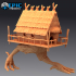 Baba Yaga Hut / Green Hag Chicken House/ Old Witch Home image