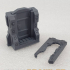 STAR CRAWLER TERRAIN SCIFI DOORS, ZOMBICIDE INVADER, NEMESIS, SPACE HULK - WITH EZ PRINT SUPPORTS image