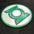 Green Lantern Corps Logo Coaster Mk 2! image