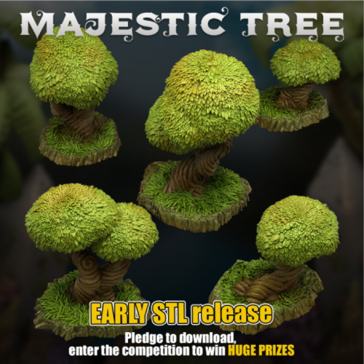 Majestic Enchanted Tree - Early Released for the Competition!'s Cover