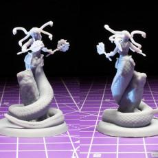 Picture of print of Medusa Elite Battle Axe Pose 2