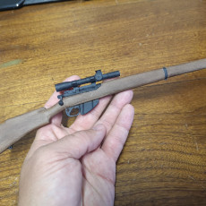 Picture of print of Lee Enfield NR.4 MK1 (T) - scale 1/4