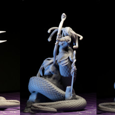 Picture of print of Medusa Elite Longbow Pose 1