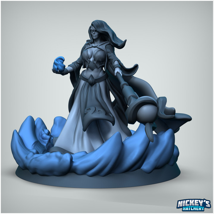 Neeya the Water Shaper with Elemental's Cover