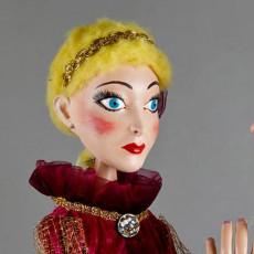 Princess - marionette head
