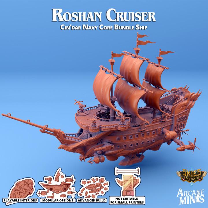 Airship - Roshan Class Cruiser's Cover