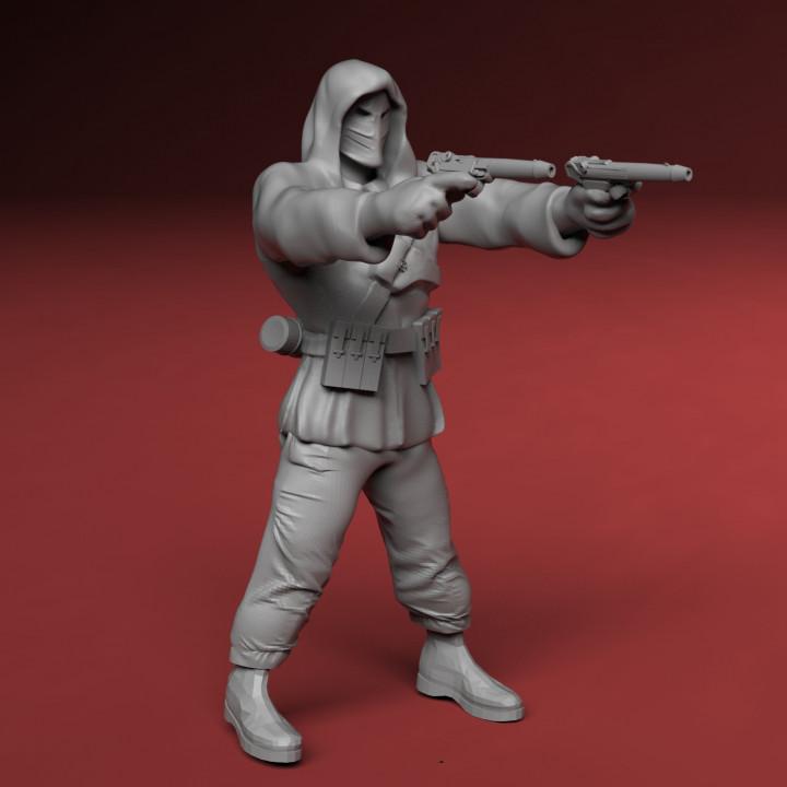 Axis Masked Assassin Cyberpunk