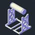 Printer 3D Filament Spool Holder - Suporte Filamento Impressora 3D image