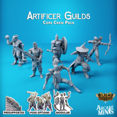 Artificer Guilds - Core Crew