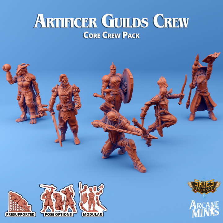Artificer Guilds - Core Crew's Cover
