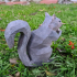 Low Poly Squirrel image