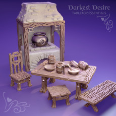Dining Set (Pre-Supported)