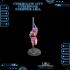 CyberGlow City Cyberpunk Stripper Aria image