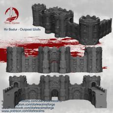 Dwarves - Kir Badur Outpost Walls