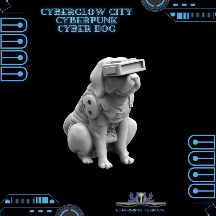 CyberGlow City Cyberpunk Cyber Dog
