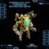 CyberGlow City Cyberpunk Destroyer Mech image