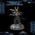 CyberGlow City Cyberpunk Samurai Warrior image