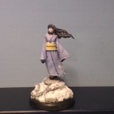 Picture of print of Yuki onna