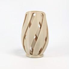 Wicker Concentric Vase