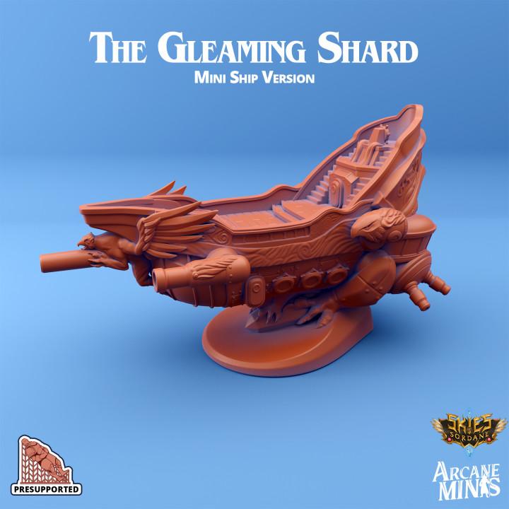 The Gleaming Shard - Mini Ship's Cover
