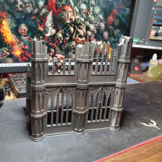 Picture of print of Wargaming Imperial Building With Windows
