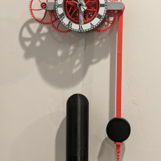 Picture of print of 32 Day Clock Easy Build