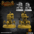 32mm scale Artificer Team with Spider Drones (including pre-supported) image