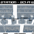 Sector 23 - Sci Fi and Space Station Interlocking Walls image