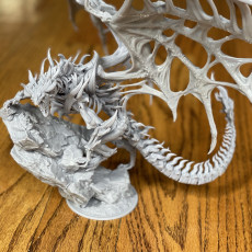 Picture of print of Undead Dragon Climbing