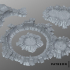 Crater terrain image