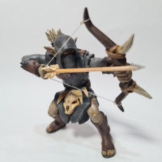 Picture of print of Maggot Archer Tabletop Miniature