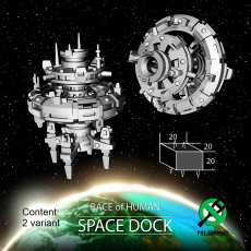 SPACE DOCK for Human Race