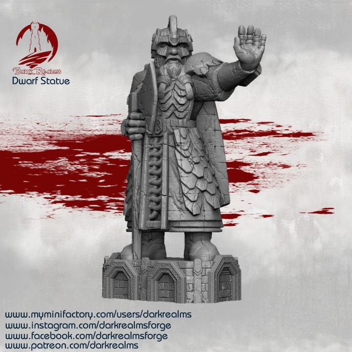 Dwarves - Statue