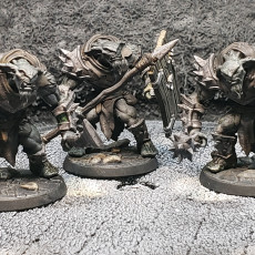 Picture of print of 3 Greatgoblins - Shortsword Tales