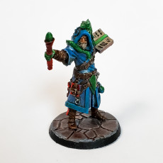 Picture of print of Galandor the human Wizard